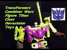 TransFormers Combiner Wars Figure Titan Class Devastator Toys