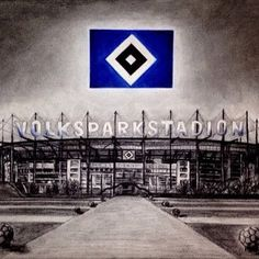 """44 Likes, 1 Comments - HSV-Fan (auf Facebook) (@hsvfanlive) on Instagram: """"Tolles Bild vom #volksparkstadion #nurderHSV #hsv #immersteLiga"""""""