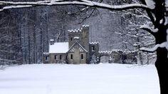 """nordicsublime: """"castle - nature-winter_wallpaper """""""