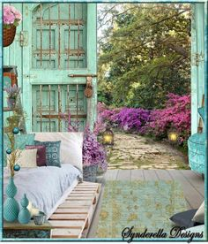 """Garden Shed Retreat"" by synderella on Polyvore"
