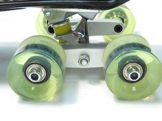 Matte Black CNC Tandem Axle Wheel Kit For Skateboard Trucks Longboard Penny Skateboard Parts, Penny Skateboard, Skateboard Design, Tandem, Longboard Trucks, Skate Decks, Skate Surf, Truck Wheels, Longboarding