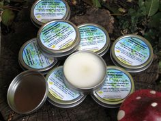 Smell Better Butter all natural cream deodorant TRIO - three lovely tins of your favorite scents. a great way to stock up!  by InspiredMama, $16.00