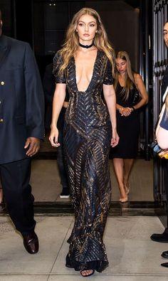 Gigi Hadid looked skin-sational at the Fashion Media Awards 2016.