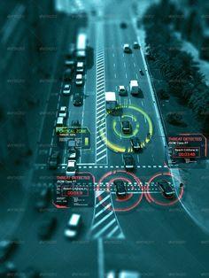 Hi-Tech HUD Shapes Vol.4 military inspo for UI