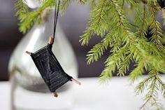 Oravanpesä   DIY: Salmiakki-koriste