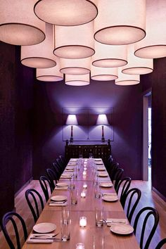 The private dining room at Maysville