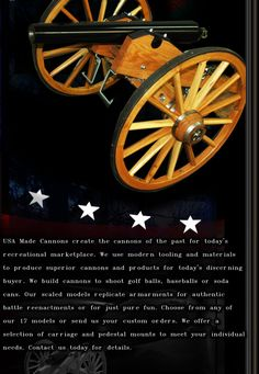 http://www.usamadecannons.com/ naval cannons