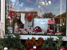 Christmas - stockings hung by the chimney with care! Christmas Stockings, Lamb, Inspire, Windows, Inspiration, Needlepoint Christmas Stockings, Biblical Inspiration, Window, Baby Lamb