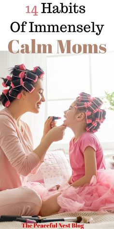 Become a calmer mom with these 14 simple and doable habits for every day - Parenting interests Peaceful Parenting, Gentle Parenting, Kids And Parenting, Parenting Hacks, Mindful Parenting, Parenting Ideas, Mom Advice, Baby Kind, Raising Kids