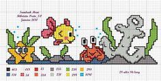Cross Stitch Baby, Cross Stitch Animals, Cross Stitch Charts, Cross Stitch Designs, Cross Stitch Patterns, Hand Embroidery Patterns, Beading Patterns, Cross Stitching, Cross Stitch Embroidery