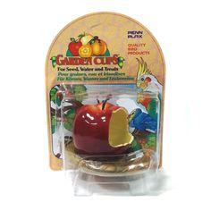 Comedero para Aves con forma de Manzana