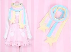 cute shooting star scarf idea! | ☆*:.。. My style .。.:*☆ | Pinterest