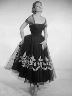 Diaphanous dress, 1956    Photo by Chaloner Woods