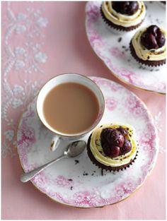 Black Forest Cupcakes - seasonalberries uk