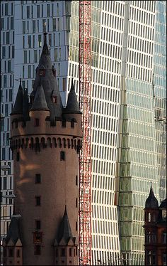Eschenheimer Turm, Frankfurt am Main, Germany