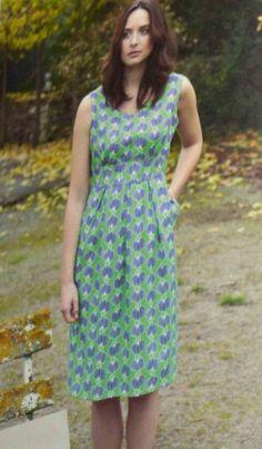 Free PDF pattern, GBSB Summer dress
