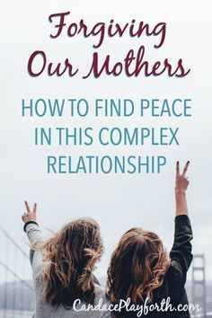 Forgiving our mothers for the inevitable mistakes of the past is a necessity for our emotional health. Learn how you can move forward in love with your mom. Mother Daughter Quotes, Mother Daughter Relationships, Mother Quotes, Emotional Healing, Emotional Abuse, Emotional Development, Personal Development, Abusive Parents, Aging Parents