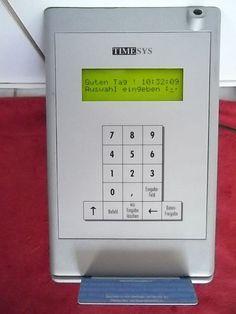 TIMESYS 7722 (TWINAX) Revision 60.2, ZEIT-ERFASSUNGSTERMINAL,wurde Musterstück