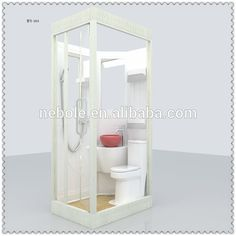 All In One Bathroom Units Prefab Bathroom , Find Complete Details about All In One Bathroom U Small Shower Room, Small Showers, Have A Shower, Shower Pods, Outdoor Bathrooms, Tiny Bathrooms, Small Bathroom, Mini Bad, Wet Rooms