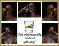 Drink Responsibly. Like Claire #OutlanderMeme party #HeughliFUN is dusting off the goods pic.twitter.com/KBgf8WbZ6W