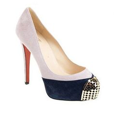 Christian Louboutin Maggie 140 Suede Pumps Lilac is the most fashionable pattern which must be your favorite shoes for this summer.Now we are providing you the reasonable price and best serives.So scarce a chance that you must catch it without hesitating.  http://www.myclsale.com