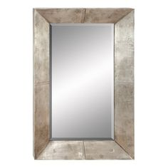 Aspire Home Accents Silver Wall Mirror - 28W x 45H in. | from hayneedle.com