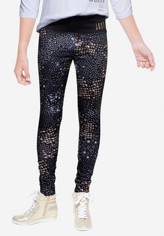 Embellished Graphics Legging