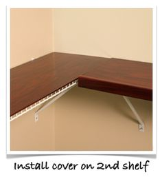 Easy Install : Renew, Shelf Covers For Wire Shelves .