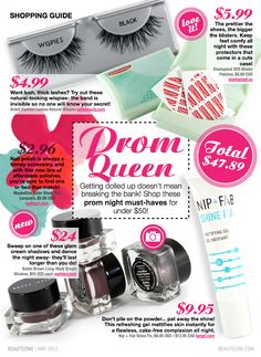 Prom Queen: Must-Haves for Under $50