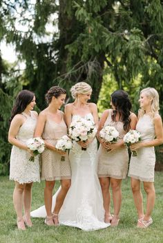 Short bridesmaid dresses, variety of styles, champagne colour Short Bridesmaid Dresses, Wedding Dresses, Champagne Colour, Weddings, Color, Style, Fashion, Bride Gowns, Colour