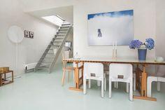 Scandinavian style loft. #photography #architecture #realestate #huistekoop #makelaar #interior #hallway #kitchen #houses #interieur #loft #scandinavian
