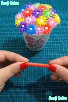 Awesome 10 sewing tips projects are readily available on our site. Read more and you wont be sorry you did. Diy Crafts Hacks, Diy Home Crafts, Diy Arts And Crafts, Cute Crafts, Crafts For Kids, Paper Flowers Craft, Paper Crafts Origami, Flower Crafts, Fabric Flowers