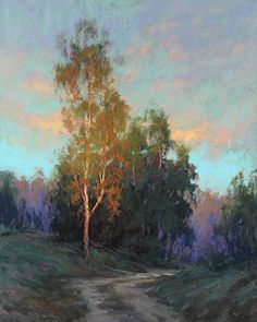 Almost Dusk by Kim Lordier Pastel ~ 30 x 24