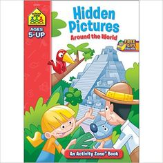 Hidden Pictures Discovery Activity Zone (Ages 5-Up): School Zone Staff, Shannon M. Mullally, Ph.D., Remy Simard: 9781589473874: Amazon.com: Books