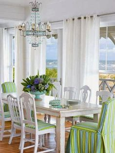 coastal dining room   Jane Coslick