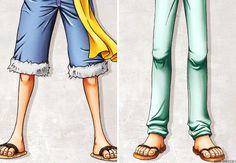 Monkey D. Luffy and Roronoa Zoro