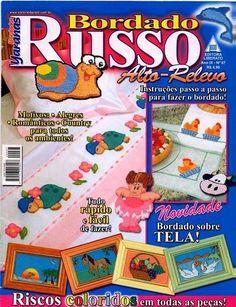 Revista Completa Bordado em Ponto Russo
