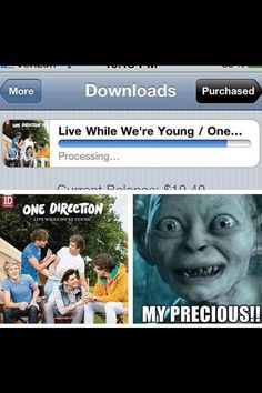 This is kinda creepy... but true.  I totally did this while downloading LWWY.
