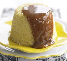 Caramel lemon puddings recipe - Recipes - BBC Good Food