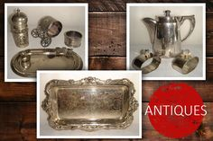 Gentleman Watch, Vintage Gentleman, Under The Hammer, Antiques Online, Trays, Silver Plate, Cups, Campaign, Auction