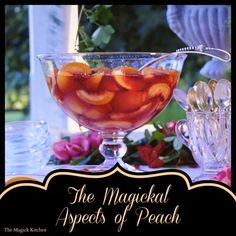 The Magick Kitchen: Magickal Aspects of Peaches