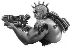 Story Inspiration, Character Inspiration, Character Art, Character Design, Necromunda Underhive, Rogue Traders, Warhammer 40k Art, War Hammer, Fantasy Pictures