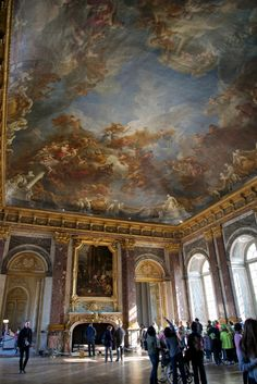 Hercules Salon Chateau de Versailles France  Versailles is the epitome of royal extravagance. http://mikestravelguide.com/things-to-do-near-paris-visit-the-palace-of-versailles-chateau-de-versailles/