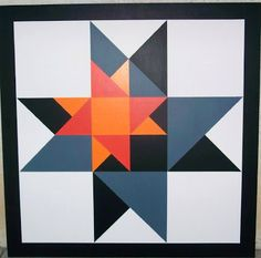 Morgan County Barn Quilts in Colorado: 'Star within a Star'