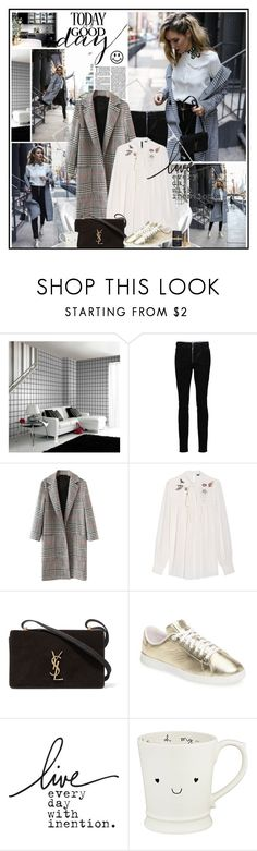 TODAY is a GOOD DAY  by katik27 on Polyvore featuring Alexander McQueen, WithChic, Alexander Wang, Cole Haan and Yves Saint Laurent