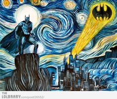 Starry Batman Night
