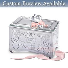 This would be a great gift for my daughter on her wedding day