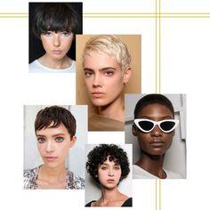 Coiffure courte 2018 : les plus jolis modèles de coupes courtes tendance en 2018 - Elle Aerobics, Cute Hairstyles, Short Hair Cuts, Pixie, Sunglasses, Hair Styles, Ideas, Fashion, Hair