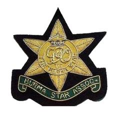 Army Officer's cap badges are gold and silver bullion wire embroidered. Hud Badges make Navy Cap Badges, Crown and Star badges in sew on variety and with Velcro backing. http://hudbadges.com/details/cap_badges_HB-101