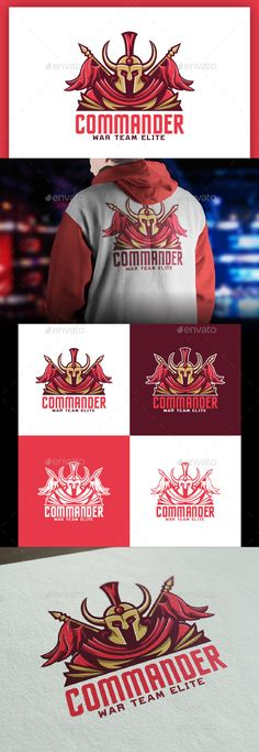 Commander Logo Template - Humans Logo Templates Download here : https://graphicriver.net/item/commander-logo-template/19262077?s_rank=33&ref=Al-fatih